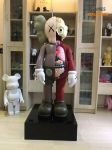 Kaws Flayed Companion Open Edition 130 см Brown