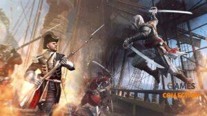 Assassin's Creed IV: Black Flag (XBOX360) Б/У