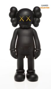 KAWS Five Years Later Companion Figure Black