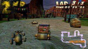 The Flintstones: Bedrock Racing (PS2) Б/У