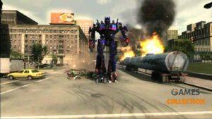 Transformers: Revenge of the Fallen (PS3) Б/У