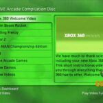 XBOX LIVE Arcade Compilation (XBOX 360) Б/У