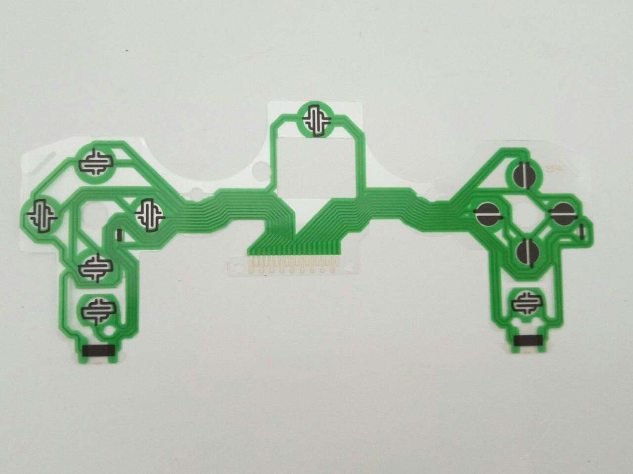 Контактный шлейф беспроводного джойстика Dualshok 4 Зеленый