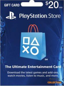 PLAYSTATION NETWORK 20 USD (USA) КАРТА ОПЛАТЫ