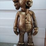 Kaws Flayed Companion Open Edition 130 см Bronze