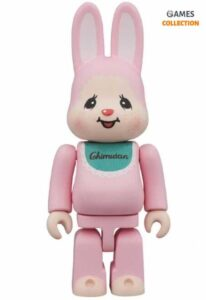 Bearbrick Rabbrick Кролик Чимтан Розовый 400% (28см)