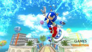Sonic Free Riders для Kinect (XBOX360) Б/у