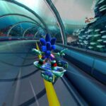 Sonic Free Riders для Kinect (XBOX360) Б/у
