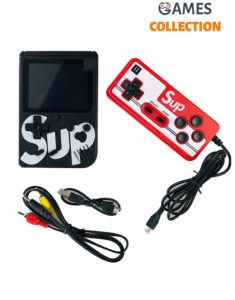 Консоль SUP GAME BOX Черная 400 игр + джойстик для 2х игроков на ТВ