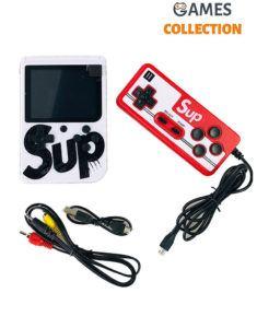 Консоль SUP GAME BOX Белая 400 игр + джойстик для 2х игроков на ТВ