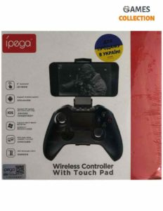 Ipega Wireless Cotroller With touch Pad 9069
