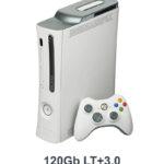 Xbox 360 FAT Black/White 120GB + LT+3.0