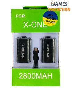 XBOX ONE 2 Аккумулятора + Провод