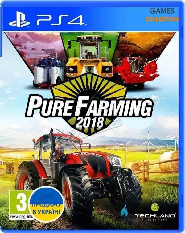 Pure Farming 2018 (PS4)-thumb