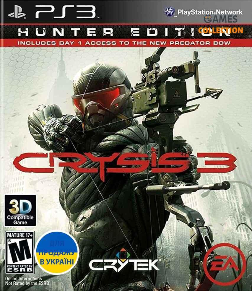 Crysis 3. Hunter Edition [PS3, русская версия]-thumb