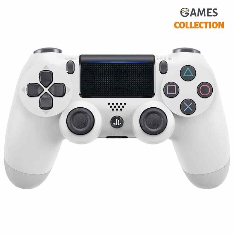 DUALSHOCK 4 WHITE V2 (PS4)-thumb