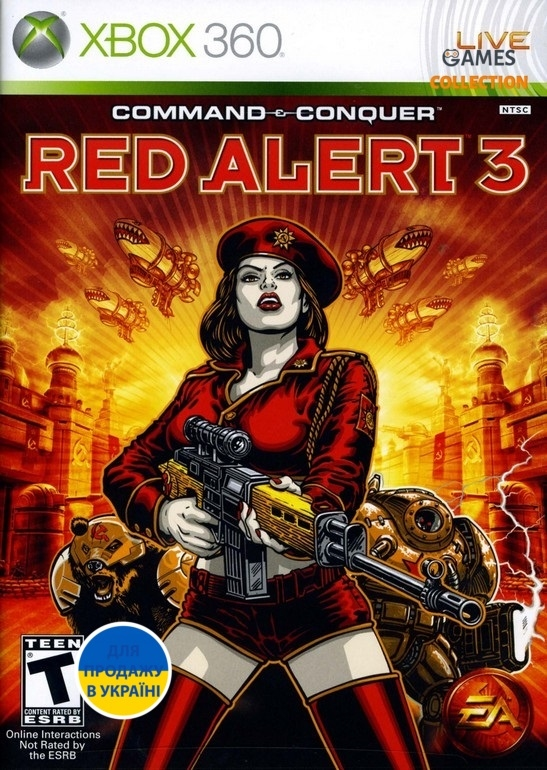 Command & Conquer: Red Alert 3 (XBOX360)-thumb