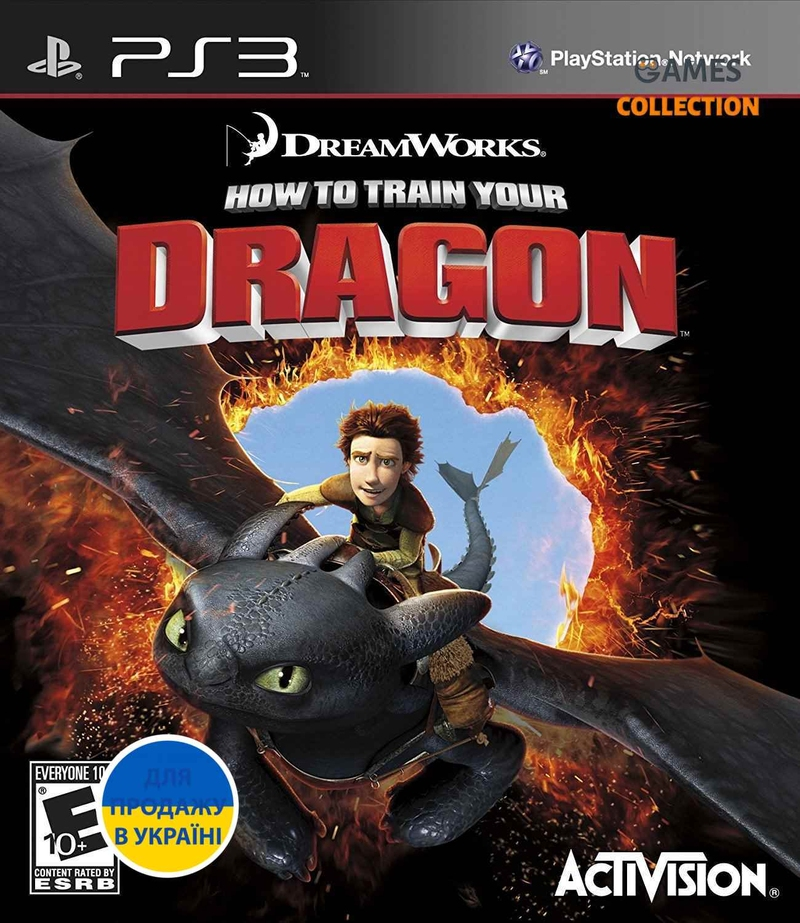 How to Train Your Dragon (PS3) Б/У-thumb
