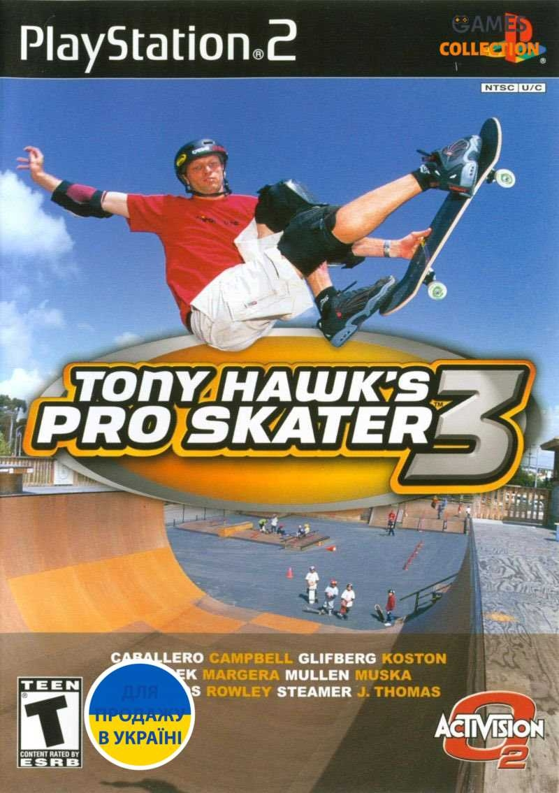 Tony Hawk's: Pro Skater 3 (PS2)-thumb
