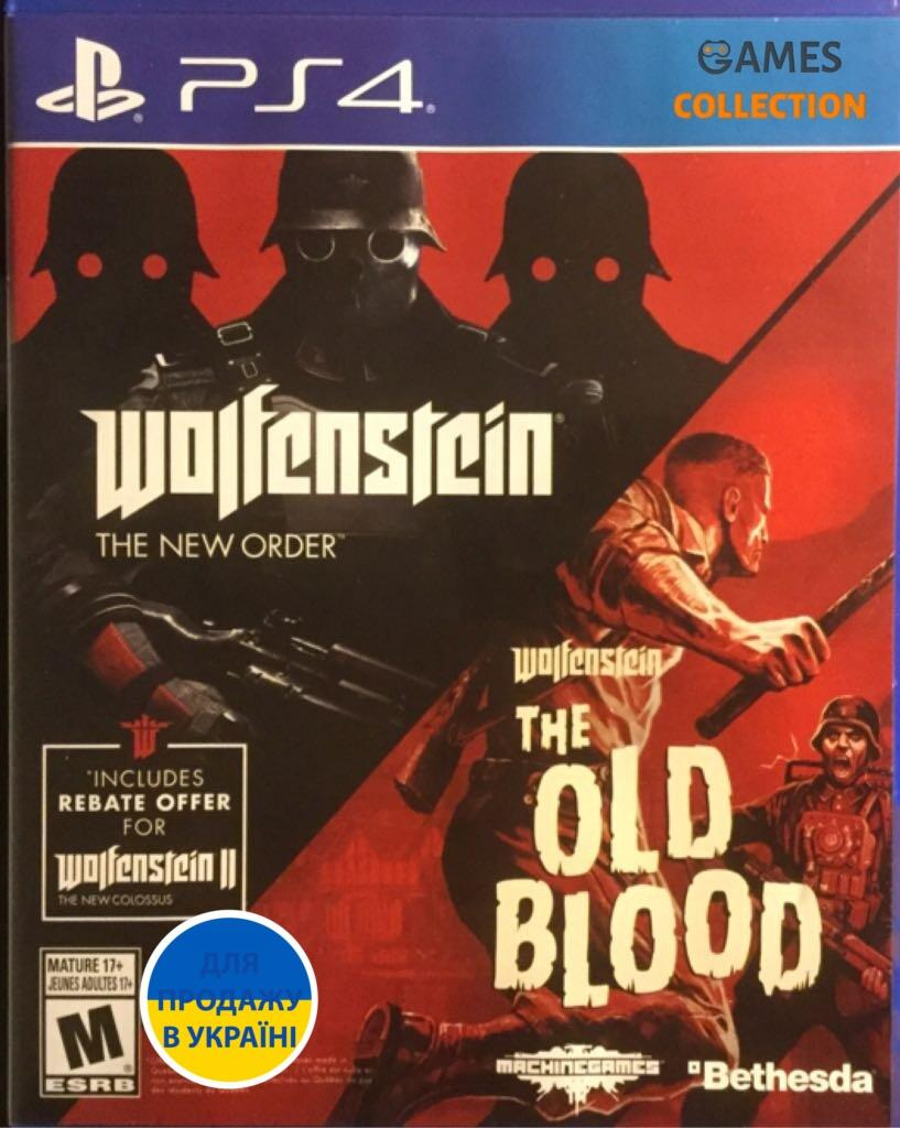 Wolfenstein: The Two Pack  ( PS4)-thumb