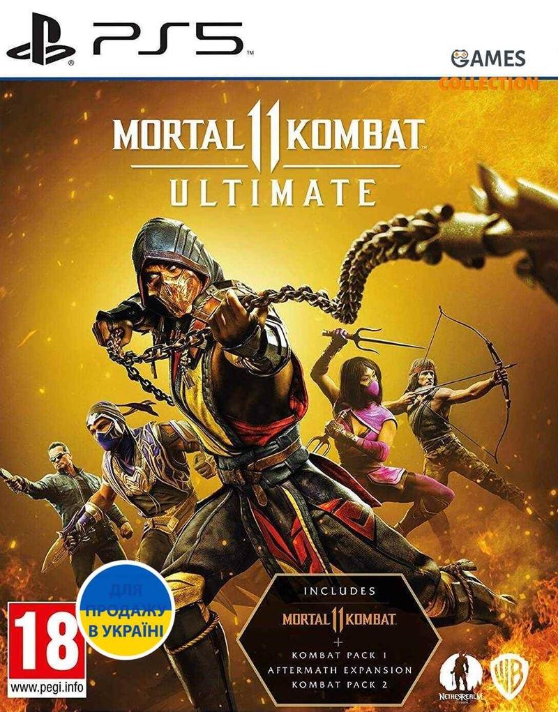 Mortal Kombat 11 Ultimate (PS5) Б/У-thumb