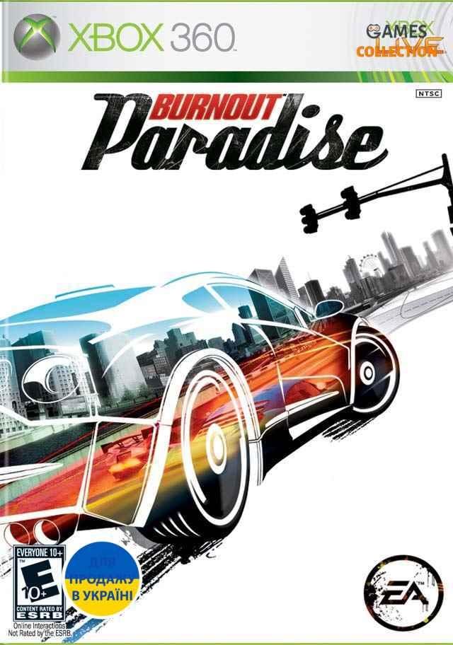 Burnout Paradise (Xbox 360/Xbox One) Б/У-thumb