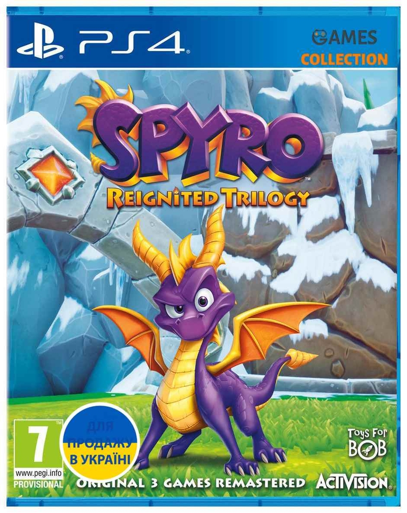Spyro: Reignited Trilogy (PS4)-thumb