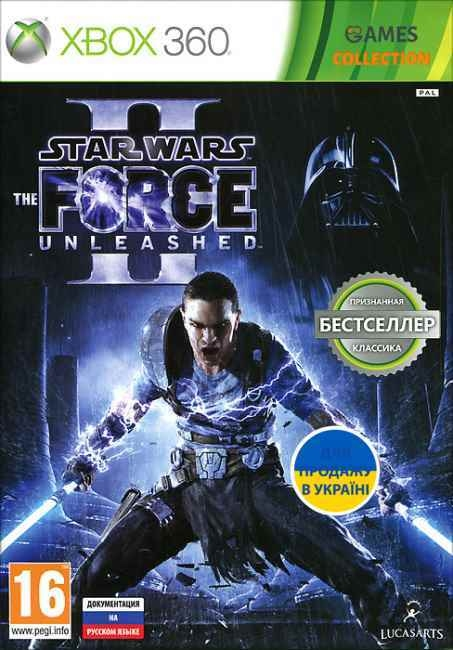 Star Wars: The Force Unleashed II (XBOX360) Б/У-thumb