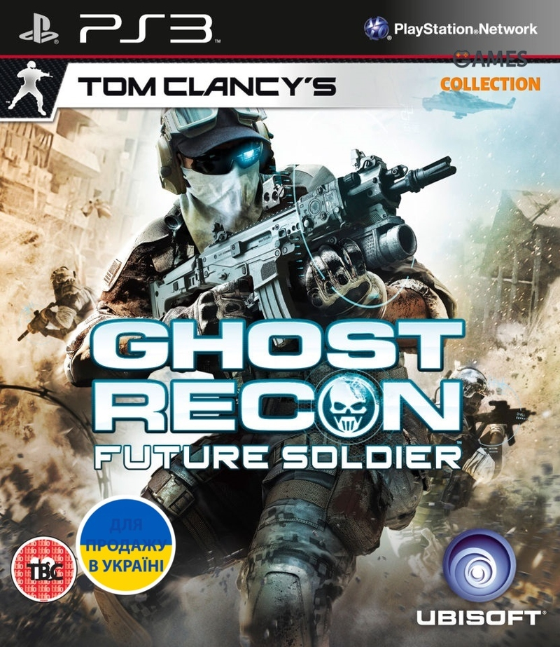 Ghost Recon: Future Soldier (PS3) Б/У-thumb