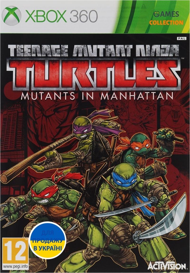 TMNT: Mutants in Manhattan (XBOX 360)-thumb