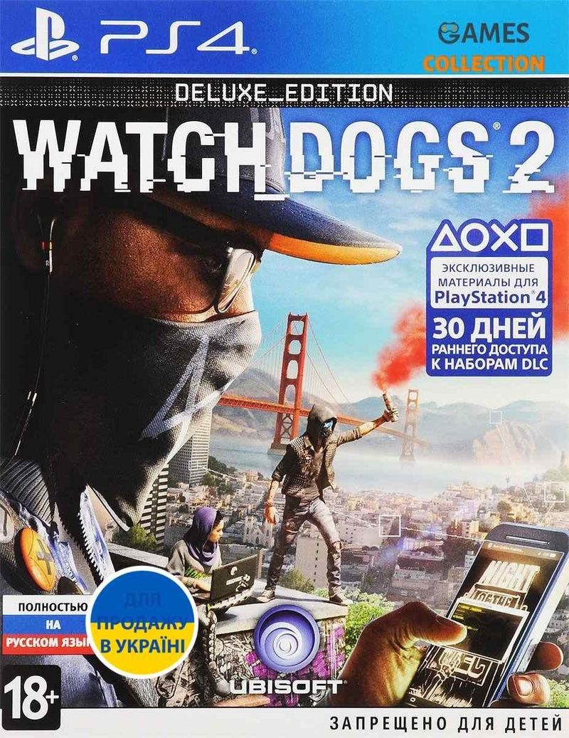 Watch Dogs 2: Deluxe Edition (PS4)-thumb