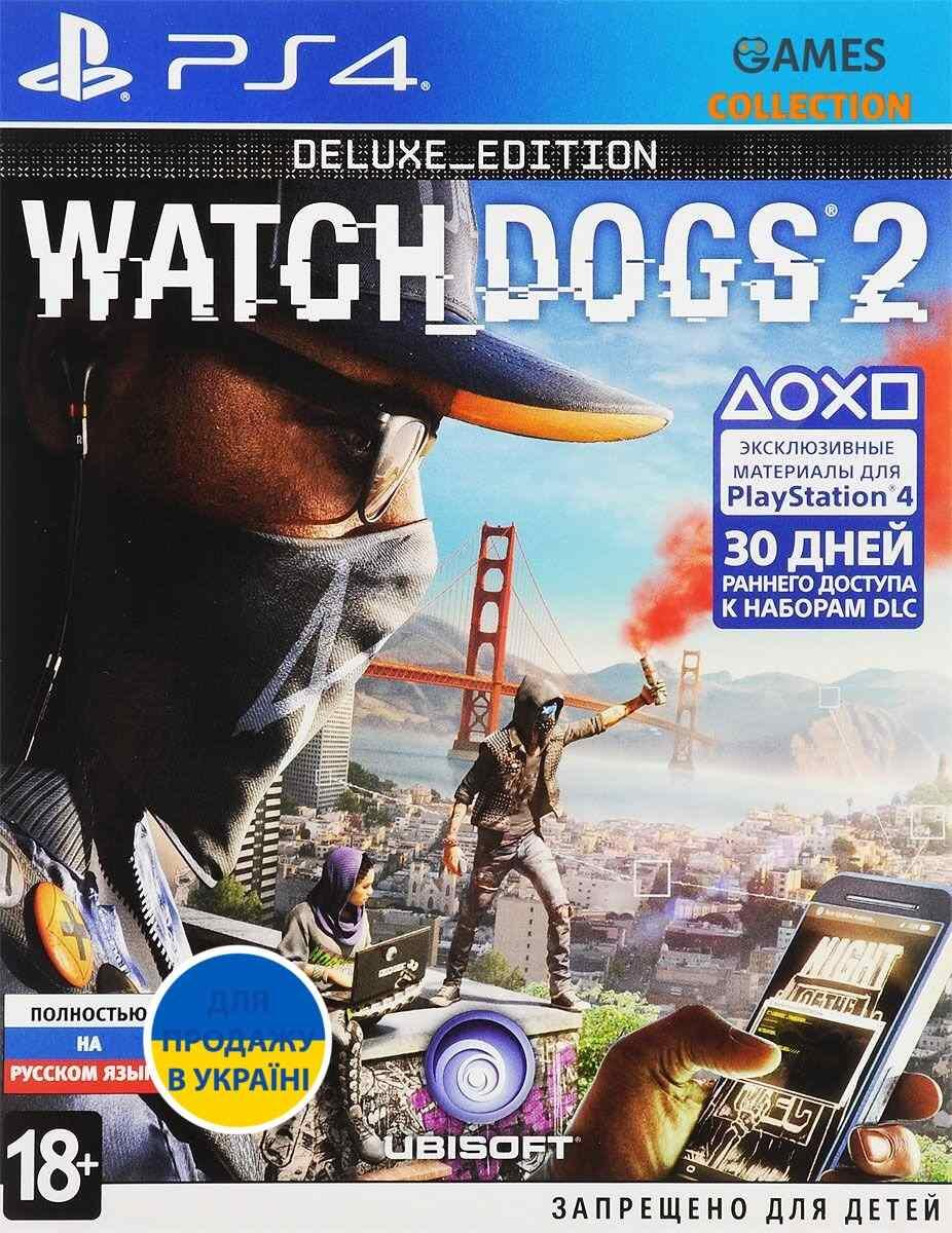 Watch Dogs 2. Deluxe Edition [PS4]-thumb