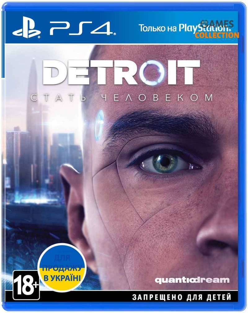 Detroit: Become Human (PS4) Б/У-thumb