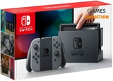 Nintendo Switch (Grey)-thumb