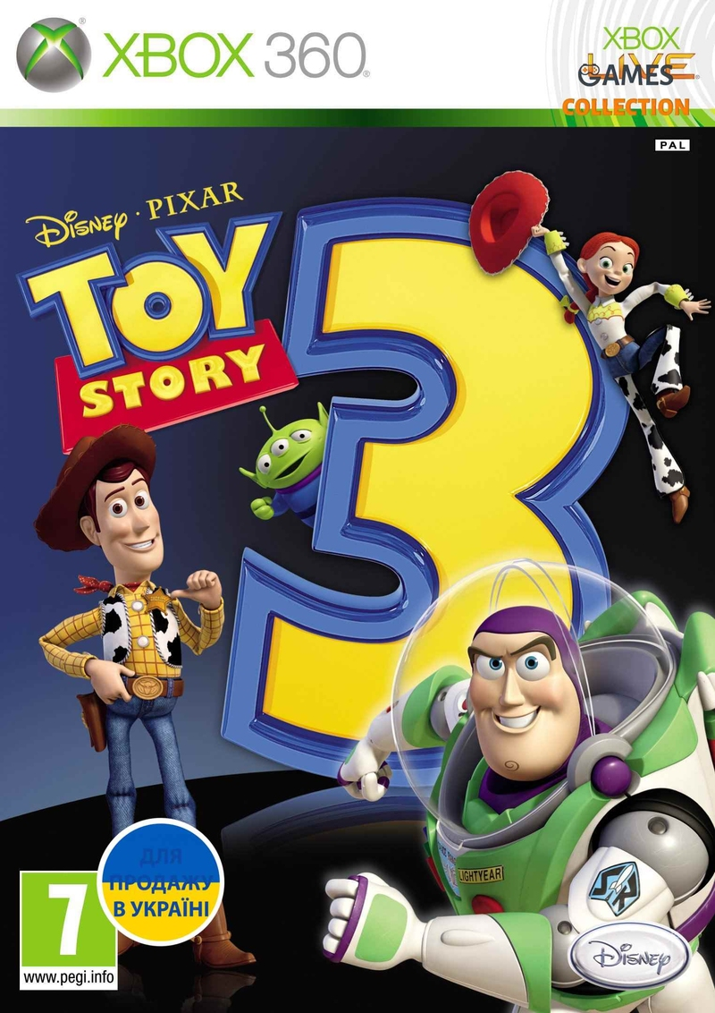 Toy Story 3: The Video Game (XBOX360)-thumb