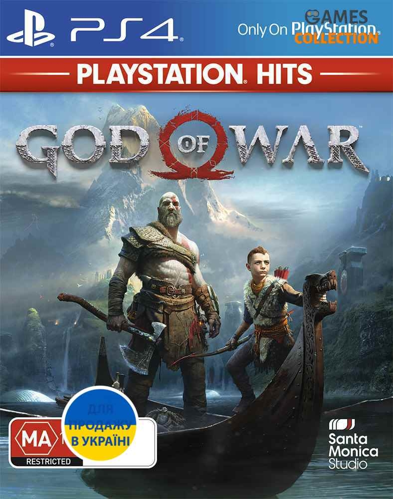 God of War Хиты PlayStation (Russian version) (PS4)-thumb