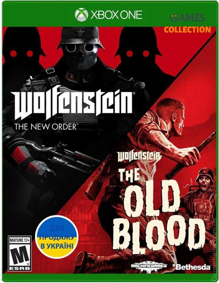 Wolfenstein: The Two Pack (Xbox One)-thumb