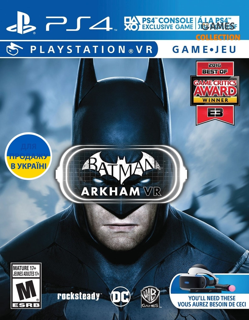 Batman: Arkham VR (PS4)-thumb