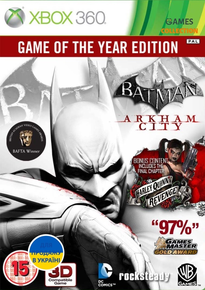 Batman Arkham City: Game of the Year Edition (XBOX360)-thumb