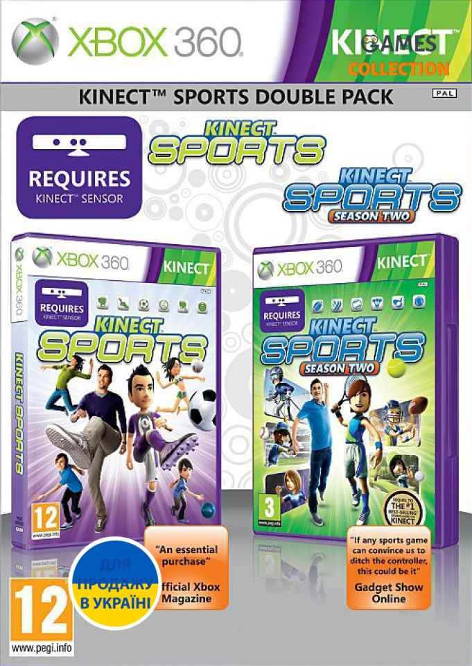 Kinect Sports Ultimate Collection (XBOX 360) Б/У-thumb