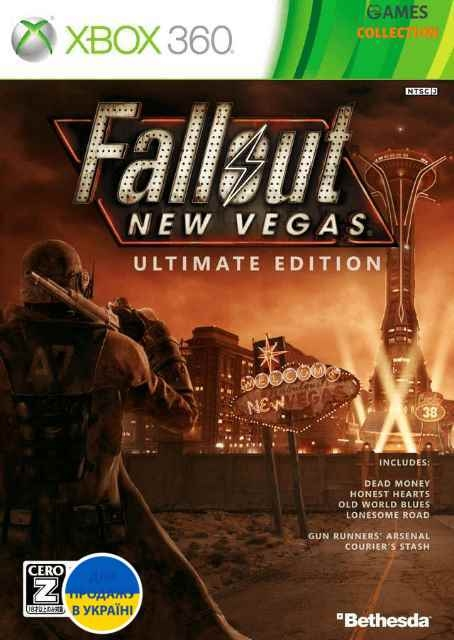 Fallout: New Vegas Ultimate Edition (Xbox 360/Xbox One) Б/у-thumb