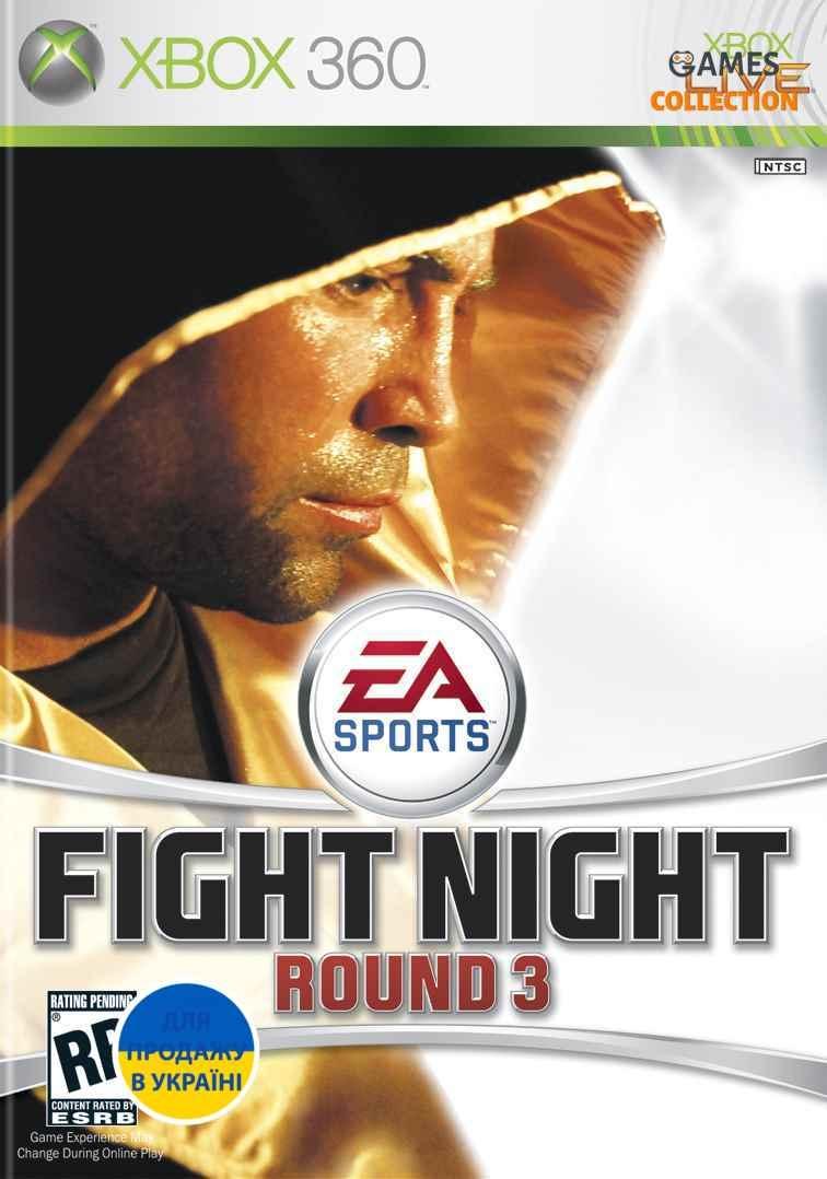 Fight Night Round 3 (XBOX360) Б/у-thumb