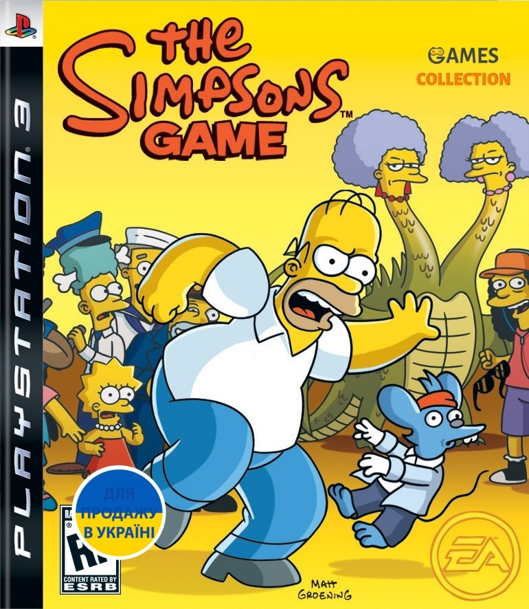 The Simpsons Game (PS3) Б/У-thumb