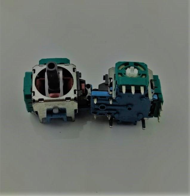 Механизм аналога 3D джойстика PS 4 (3 pin)  (2шт)-thumb