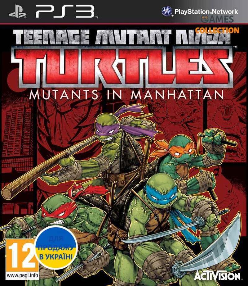 Teenage Mutant Ninja Turtles: Mutants in Manhattan (PS3)-thumb