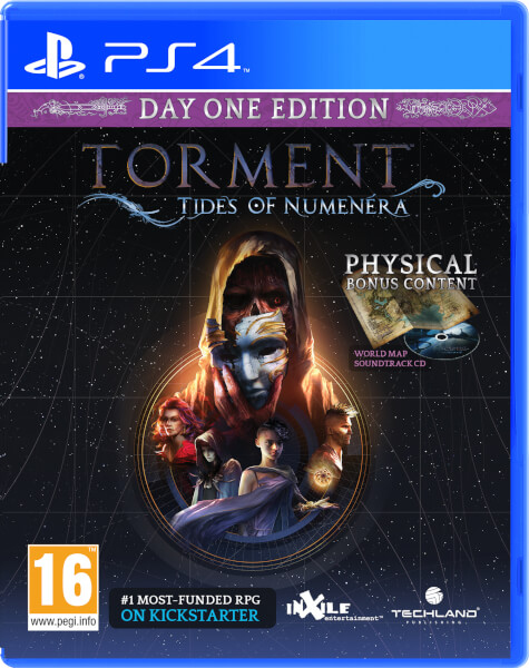 Torment Tides of Numenera Day one Ed. (PS4)-thumb