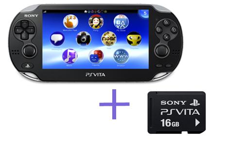 Sony PlayStation Vita WiFi + 16Gb + мягкий чехол + пленка на экран-thumb