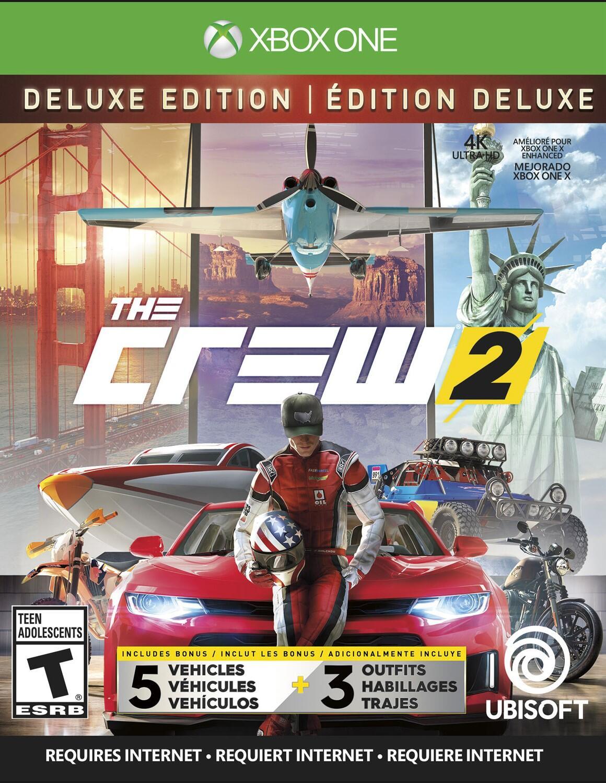 The Crew 2 Deluxe Edition (Xbox One)-thumb