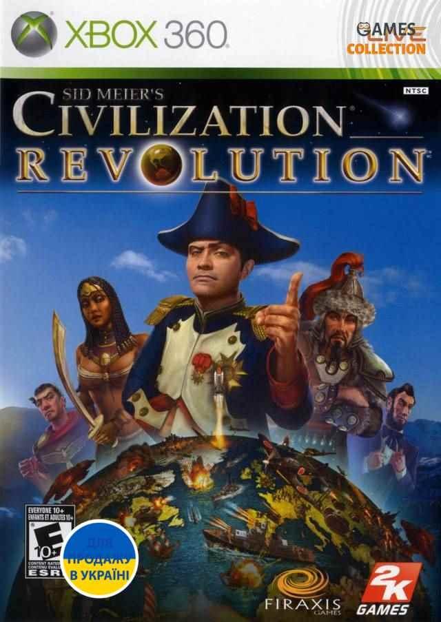 Sid Meier's Civilization Revolution (XBOX 360)-thumb