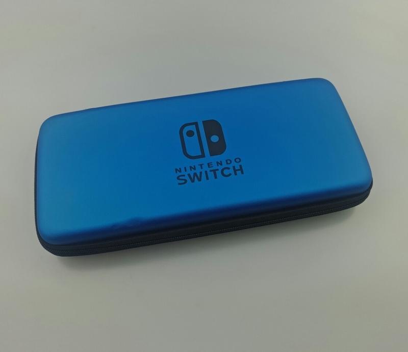 Чехол синий с отделением для 5 игр (Switch)-thumb
